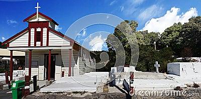 Maori Cemetery Editorial Stock Photo