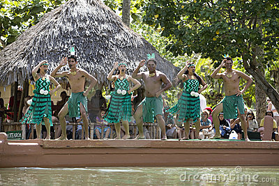 Maori Dancers 1514 Editorial Photo
