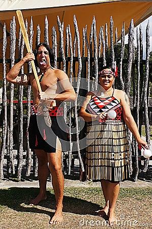 Maori natives Editorial Image