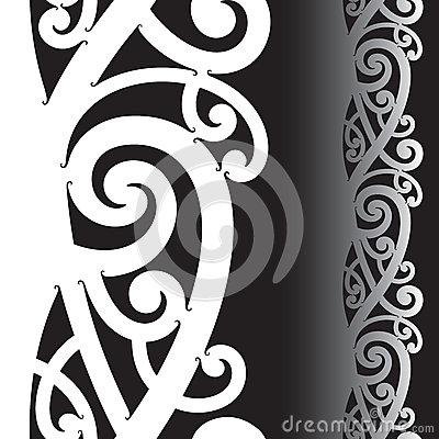 Maori Tattoo Pattern Royalty Free Stock Photo Image 25560095