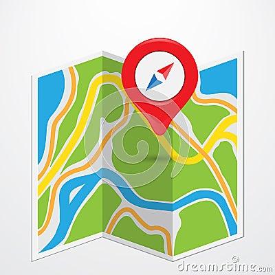 Free Map Royalty Free Stock Photos - 38863778