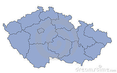 Map Czech Republic