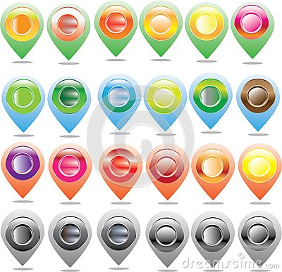 Free Map Icon, Map Maker Gps Stock Photography - 62087082