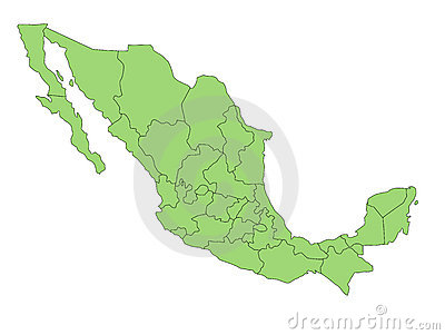 Map Mexico