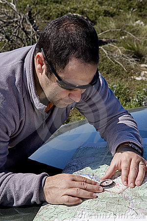 Map navigation, trekking