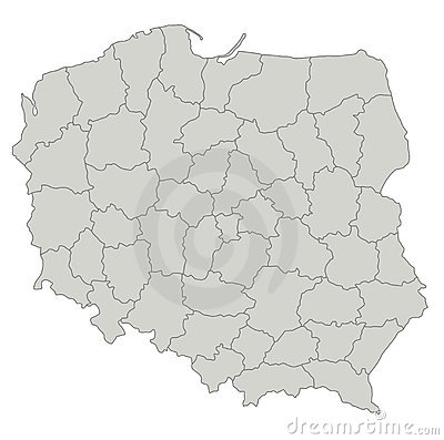 maps of poland. MAP OF POLAND (click image to