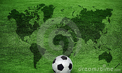 Map of the World Football