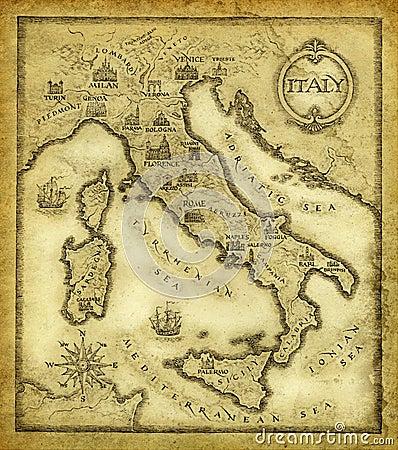 Mapa de Italy