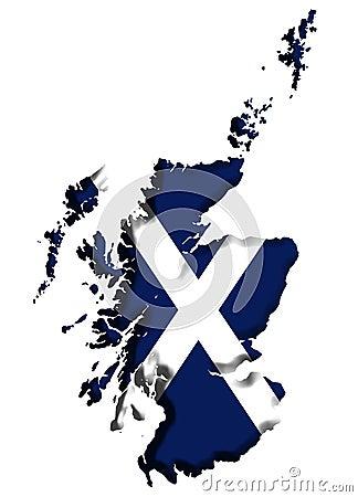 Mapa de Scotland