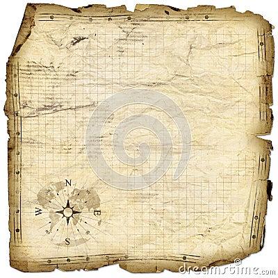 Mapa skarb