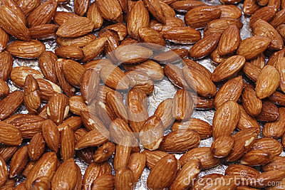 Maple Glazed Almonds