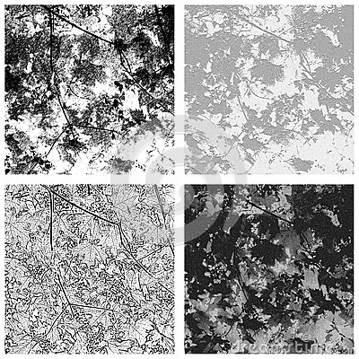 Maple Leaf Textures Set 1