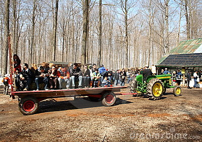 Maple syrup festival Editorial Stock Photo