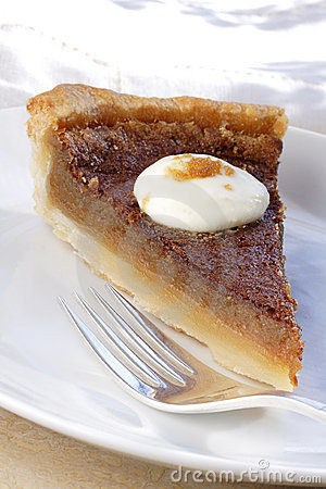 Maple syrup sugar pie