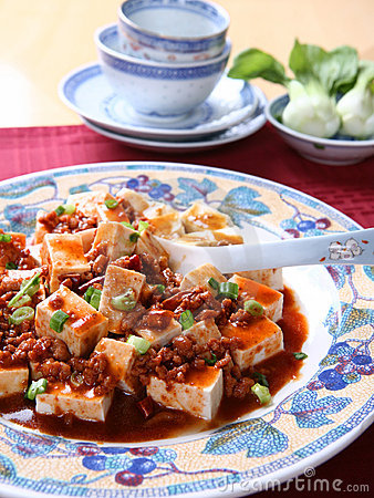 Free Mapo Tofu - A Popular Chinese Spicy Dish Royalty Free Stock Image - 7270666