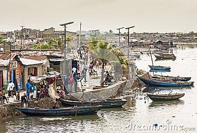 Mapou River, North Haiti Editorial Photo