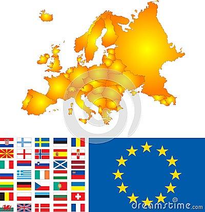 Mappa di Europa