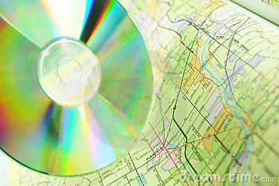 Maps on CD