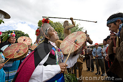 Mapuche Editorial Stock Image