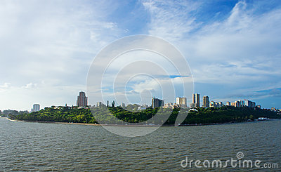 Maputo from the sea