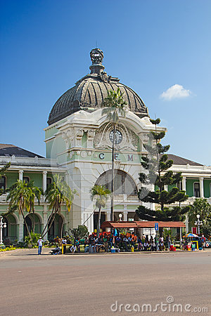 Maputo train station Editorial Photography