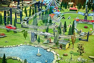 Maquette city park