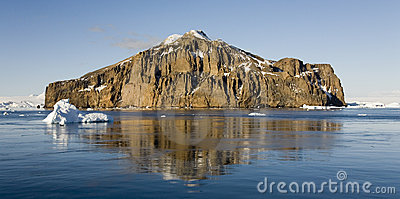 Mar de Weddell em Continente antárctico
