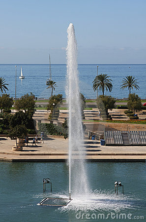 Mar park in Majorca