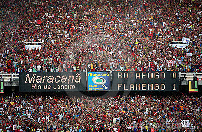 Maracana stadium Editorial Photography