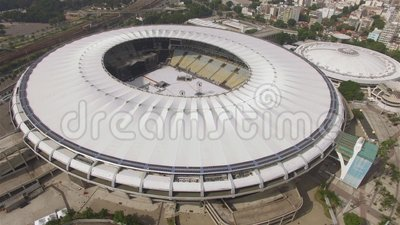 Maracana Stadium brazylijski pi?k? Musical w Maracana stadium zbiory wideo