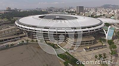 Maracana Stadium brazylijski pi?k? Musical w Maracana stadium zdjęcie wideo
