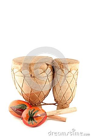 Maracas y tambor