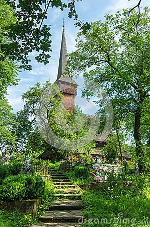 Maramures, landmark - wooden church