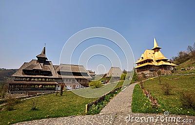 Maramures monastery Birsana Editorial Photo