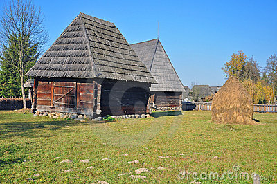 Maramures old houses
