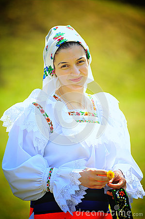 Maramures Romania traditional woman