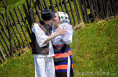 Maramures traditional people