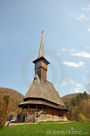 Maramures vertical monastery