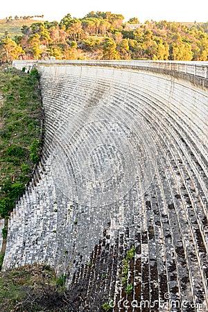 Free Marathon Dam Face Stock Photography - 70255802