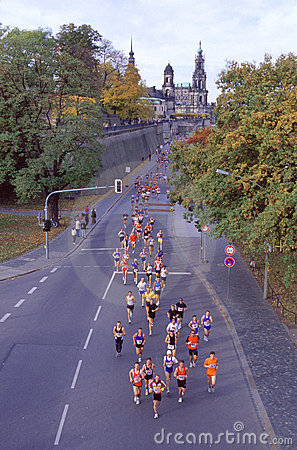 Marathon in Dresden - Germany