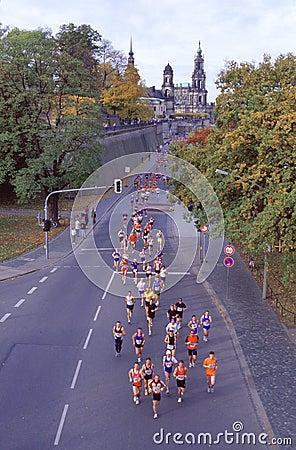 Marathon in Dresden - Germany