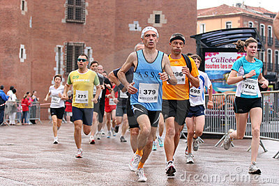 Marathon of Perpignan Editorial Stock Image