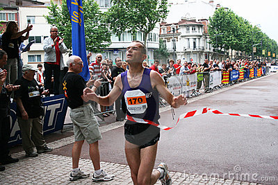 Marathon of Perpignan Editorial Image