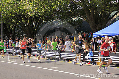Marathon Run Race Editorial Image