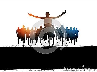 Marathon Run Success