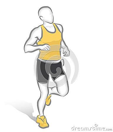 Free Marathon Runner Royalty Free Stock Photos - 368278