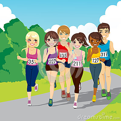Marathon Running Competition