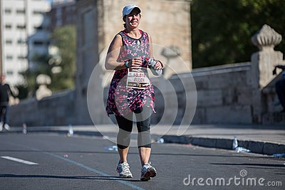 Marathon Editorial Stock Image