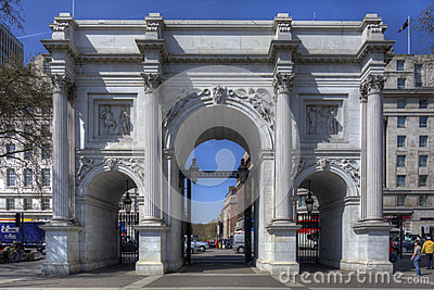 Marble Arch, London Editorial Photography