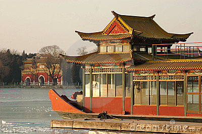 Marble boat of Summer palace